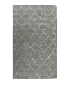 Arabesque Trellis Rug in grey??????