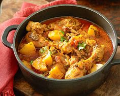 Bengali Chicken and Potato Curry Recipe- Learn how to make Bengali Chicken and Potato Curry step by step on Times Food. Find all ingredients and method to cook Bengali Chicken and Potato Curry along with preparation & cooking time. Spicy Recipes, Curry Recipes, Potato Recipes, Indian Food Recipes, Soup Recipes, Vegetarian Recipes, Chicken Recipes, Cooking Recipes, Ethnic Recipes
