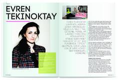 Editorial Design - Evren Tekinoktay - Emilie Linsaa Editorial Design, Editorial Layout