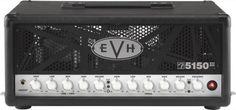 EVH Eddie Van Halen 5150 III MX Guitar Amplifier Head: Shred with the legendary tone of Eddie Van Halen himself. The 5150 III MX head packs 50 watts of rock power with three channels and easy MIDI integration.
