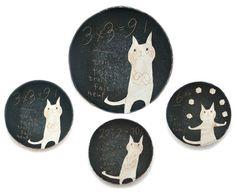 Ceramics with a Japanese heart: Makoto Kagoshima @ www.imaginativebloom.com