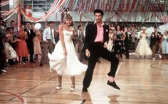 Sandy and Danny at the school dance. (Photo: Paramount Pictures/Fotos International/Getty Images)