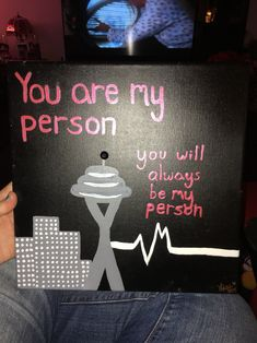 Greys Anatomy canvas that I made for my best friend if you want one email me at designsbyquash@gmail.com
