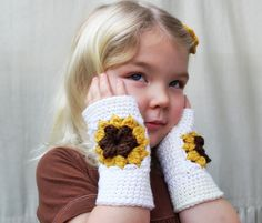"""This listing is for a crochet PATTERN ONLY for The Josie Fingerless Mitts, part of my Prairie Home Collection, available for instant download. *Not a finished product :)*  These granny square fingerless mitts are just too cute. These would be a unique and adorable addition to an Easter basket or just because. They are the perfect weight for spring.  All patterns written in standard US terms.  Sizes (all included in pattern): - Toddler: 6"""" circumference, 5"""" long - Child: 8"""" circumference, 7 """"…"""