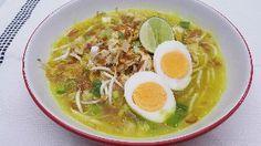 Resep Soto : Soto Kuning Ayam