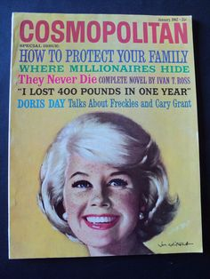 January 1962 cover with Doris Day