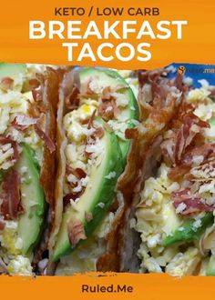 Bacon eggs avocado and more cheese bundled up in an easy to eat portable crunchy keto cheese shell. It's the perfect breakfast! Bacon eggs avocado and more cheese bundled up in an easy to eat portable crunchy keto cheese shell. It's the perfect breakfast! Lunch Recipes, Healthy Dinner Recipes, Low Carb Recipes, Diet Recipes, Diabetic Breakfast Recipes, Keto Lunch Ideas, Bariatric Recipes, Steak Recipes, Recipies