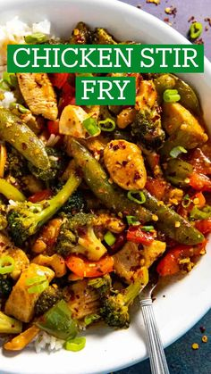 Spicy Chicken Recipes, Asian Recipes, Healthy Recipes, Korean Food, Chinese Food, Egg Roll Recipes, Healthy Weeknight Meals, Chicken Stir Fry, Master Chef