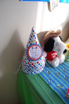 snoopy party hats