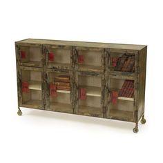 Hand painted Lockeroom Cabinet