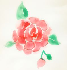 Easy watercolor florals                                                                                                                                                                                 More