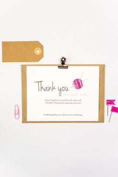 23 best business thank you cards images on pinterest in 2018