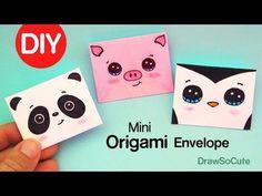 (951) How to Make a Mini Origami Envelope Super Easy - YouTube