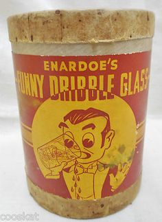 Vintage Dribble Glass