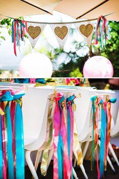 "Glittery ""California Wildlife"" Inspired Girls Birthday // Hostess with the Mostess®"