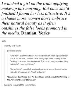 The male entitlement of the 'natural beauty' trend