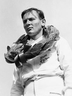 Bruce  McLaren  of McLaren  racing  and  creator  of  McLaren  car.