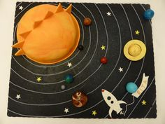 Solar sistem cake