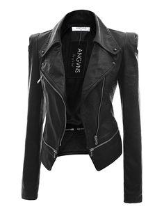 Women's Faux Leather Jacket Women's Leather Jacket. Christmas wish list!