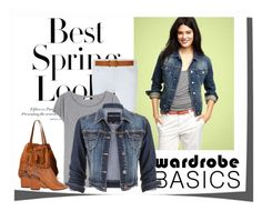 """""""Spring Jacket"""" by barbarapoole ❤ liked on Polyvore featuring H&M, Rebecca Minkoff, Acne Studios, maurices, Lauren Ralph Lauren, Frye and Alexander Wang"""