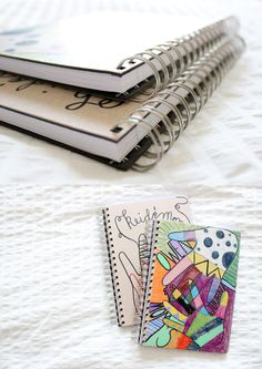 Mom & Me Journal...keep a journal with your child. Something for just the two of you to share. Love this idea!