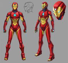 Invincible Iron Man Vol 3 #1(2016) // Marvel ComicsIron Man (Riri Williams) Story: Brian Michael Bendis, art: Stefano Caselli Get the comics here[Follow SuperheroesInColor faceb / instag / twitter /...