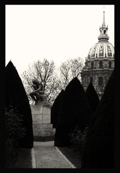 The Thinker, Gardens of Musee Rodin, Paris