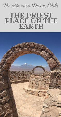 The Driest Place on the Earth - The Atacama Desert, Chile. Valley of the Moon, Valle de la Luna