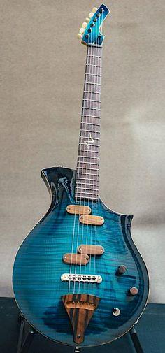 Изготовитель: Anders Liljeström Guitarmaker Модель: Supernova Ocean Blue Guitar Pics, Music Guitar, Cool Guitar, Acoustic Guitar, Electric Guitar Parts, Custom Electric Guitars, Custom Guitars, Unique Guitars, Vintage Guitars