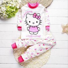Cute Baby Long sleeve Winter Sets Cotton Baby Baby Girls Boys Clothing
