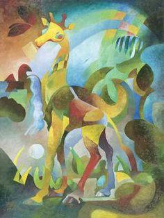 """Desert Giraffe"" - Sally Trace"