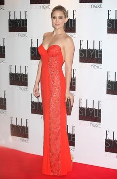Kate Hudson arriving at the 2013 Elle Style Awards at The Savoy London #celebrity #fashion #style #dress #looks #redcarpet