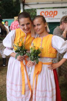 Kroje a tak Folk Costume, Eastern Europe, Costumes For Women, Czech Republic, Ukraine, Culture, Saris, Genealogy, Coast