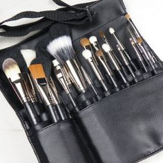MAC Professional Makeup Artist 22 Piece Brush Brushes Set w/Apron Shoulder Strap $129.99 -