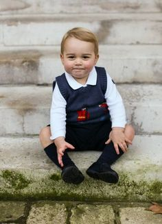 Prince George is the ultimate cutie pie.
