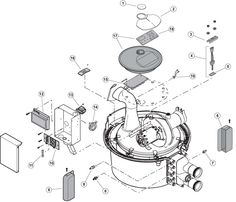 All Parts Pool & Spa : Heater Parts, Gas : Pentair - Sta-Rite : StaRite Max-E-Therm SR-200, 333, 400 Elecrical System