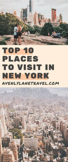 """Top 10 things to do in New York City! New York City is a city that is so iconic, you really don't have to introduce it. It is affectionately called """"The Big Apple"""", is the largest city in the USA, and is one of the world's financial and cultural centers. Have you been to the 10 most iconic places in NYC?"""