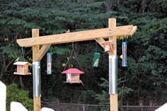 Introducing an ingenious squirrel-proof bird feeder.