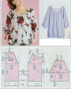Free Sewing Sewing Hacks Sewing Projects Sewing Crafts Blouse Patterns Clothing Patterns T Dress Sewing Blouses Easy Sewing Patterns Dress Sewing Patterns, Blouse Patterns, Sewing Patterns Free, Free Sewing, Clothing Patterns, Pattern Drafting Tutorials, Pattern Sewing, Coat Patterns, Free Pattern