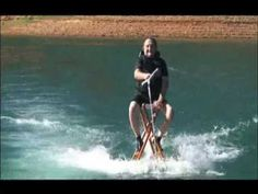 Inventor of the Quadriciser Motorized Therapy, Larry Bohanan, uses the Quadriciser every day for at least 30 minutes and at 67 he is still able to trick water ski. He's an amazing fellow.