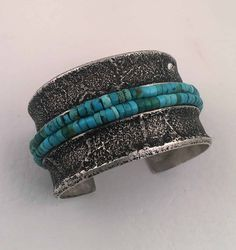 Charles Loloma - Sterling Silver Cuff Bracelet - Native American Jewelry - Leota's Indian Art is home to renowned Native American jewelry artists. Turquoise Jewelry, Turquoise Bracelet, Where To Buy Silver, Silver Jewellery Indian, Silver Jewelry, Diamond Jewelry, Silver Earrings Online, Sterling Silver Cuff Bracelet, Silver Bracelets
