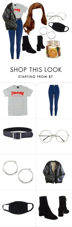 """""""7:26 pm"""" by georgia78 ❤ liked on Polyvore featuring River Island, Trend Cool, Lauren Ralph Lauren, Schott NYC and Prada"""