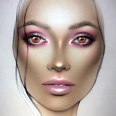 #artist @milk1422   ✨ #illamasqua #myart #myartistcommunity #jeffreestarcosmetics #limecrimemakeup #makeupart #makeupstar #makeupforever #makeuplover #macfacechart #luck #facechartartist #обучениевизаж #facechart #facechartart #faceart #christmasmakeup #макияж #hudabeauty #nyxcosmetics #instagram #anastasiabeverlyhills #Mystic #creativemakeup #katvondbeauty #maccosmetics #starcrushedminerals #sugarpill #beautymakeup