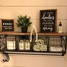 New Bath Room Signs Funny Spray Ideas Bathroom Humor, Bathroom Wall Decor, Bathroom Signs, Bathroom Ideas, Mason Jar Bathroom, Coffee Bar Home, Home Decor Inspiration, Decor Ideas, Farmhouse Decor