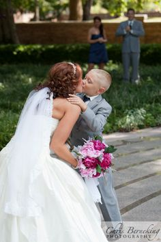 I will have a picture like this with my little ring bearer!