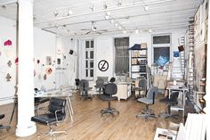 Nate Lowman studio Conference Room, Desk, Studio, Table, Furniture, Home Decor, Art, Art Background, Desktop