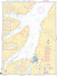 This nautical chart is provided by the Norwegian Hydrographic Service (NHS). In 2011, The Norwegian Hydrographic Service (a division of Kartverket responsible for marine navigation in Norway) signed a