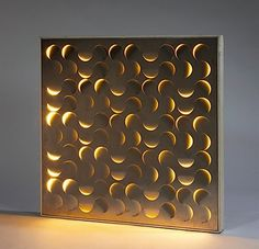 Arabesco wall light by giacomo benevelli designed c Kirigami, Canvas Art Projects, Diy Projects, Cut Out Canvas, Diy Wall, Wall Decor, Laser Cut Metal, Glass House, Ceiling Design