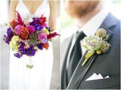 Dallas wedding photographer, vibrant bridal bouquet, groomsmen boutonniere arrangements, Highland Park United Methodist Church Wedding | Dallas » Mary Fields Photography