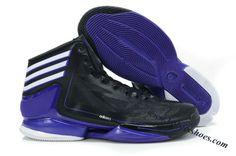 cheap for discount 4a379 385a9 Adidas Adizero Crazy Light 2 Derrick Rose Shoes Black Blue Derrick Rose,  Adidas Basketball Shoes